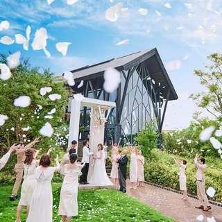 【2022年3月~5月限定◆106万円優待】人気の春婚プラン