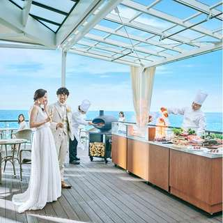 日程変更無料【22年10月まで】50名123万円◆海辺の邸宅wedding