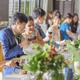 【挙式&会食】20名693,000円~貸切邸宅で安心の家族&親族婚