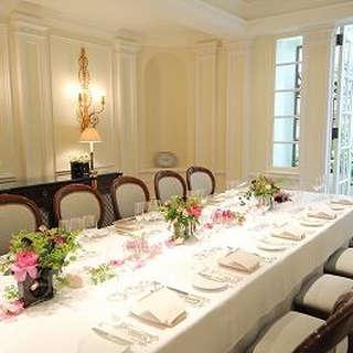 英国ジョージ王朝様式の邸宅で…少人数会食会プラン<6名様~>