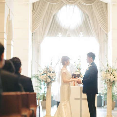 一律 165 000円 ロビー挙式 人前式またはキリスト教式 ホテル川久