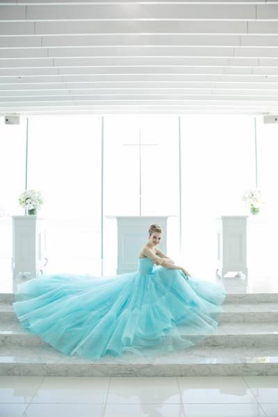 4枚目 カラードレス