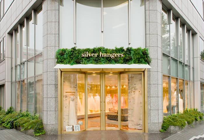 silver hangersの画像