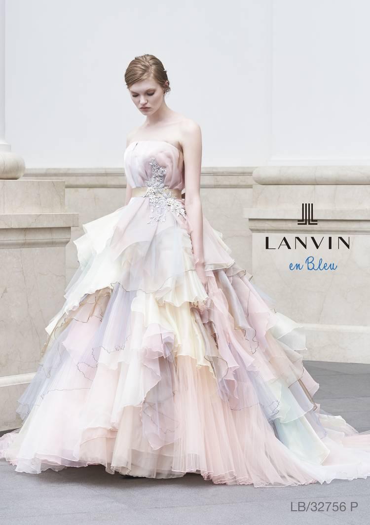 LANVIN en Bleu logo
