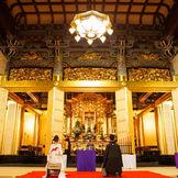 おふたりの出会いと結婚をご先祖様へ奉告するということが仏前式