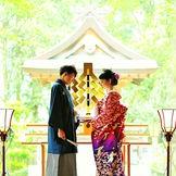 雰囲気を感じる神殿は石川県内唯一