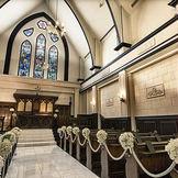 アンティークで再現された教会