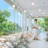 日本庭園を眺めながら和装人前式も大人気