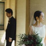 結婚式当日もゆっくり写真撮影できるのもうれしい!