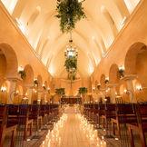 県内でも屈指の大聖堂は呼ばれたゲストを一目で感動させる