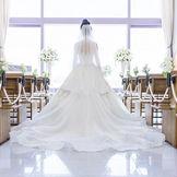 バージンロードの花嫁