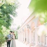 南フランス結婚式の街をコンセプトにした外観で素敵なフォトを
