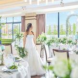 プライベートガーデンテラスのついた会場「フルール&ガーデンテラス」アットホームな雰囲気を求めているお二人にオススメな会場です。