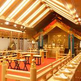 東海三県のホテルでも神殿は、最大級の規模