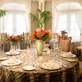 フレンチレストラン テーブルコーディネート