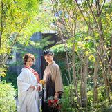 緑に囲まれた結婚式場