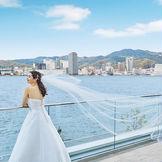 神戸湾の絶景を臨むロケーション
