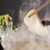 郷土料理の鯛のしゃぶしゃぶ