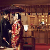広島駅直結ホテルで叶う「本格和婚」伊勢神宮と同じ神様を祀る総檜造りの神殿《光宝殿》の神前式も人気