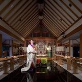 八重垣神社の神様が祀ってある「奥の院御神殿」結婚式発祥の地で、厳かな神前式を!