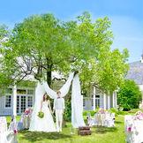 広大な四季折々の花達がお迎えするゲストハウスTHE GEORGIAのガーデン