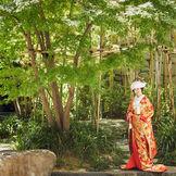 日本庭園など館内には人気のフォトスポットもたくさん。