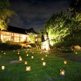 日本庭園と古民家