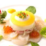 レストランウェディングならではのこだわり食材でもてなすお料理は、ゲストも大満足の逸品です!