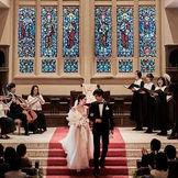 海の上に浮かぶ200年の歴史を重ねた大聖堂で憧れの挙式が叶う