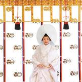 白無垢に綿帽子 花嫁があこがれ