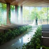 自然光と緑溢れる独立型チャペル『サウンドホール』