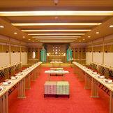 出雲大社の大神を勧請し大國主命と少彦命名をお祀りする由緒あるご神殿。県北では当ホテルのみ。
