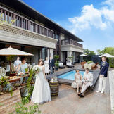 【ザ リゾート】プールを併設したガーデンのある邸宅を、贅沢にまるごと貸切
