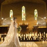 花嫁をより美しく見せる大聖堂