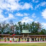 『全員参加の神社婚』迎賓館TOKIWAのコンセプトがこの1枚のお写真に♪