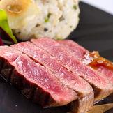 ゲストにも好評の牛フィレ肉料理!