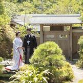 賀寿殿の日本庭園