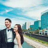 大淀川沿いに立地する宮崎観光ホテル