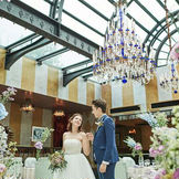 着席 2名~ 90名までの結婚式が叶う。