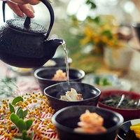 お茶漬けビュッフェや手鞠寿司ビュッフェなど、ビュッフェスタイルもご提供。動きのあるパーティになるから、ゲストとの歓談もきっと弾みやすくなる