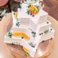 オリジナルケーキも対応可能!イメージをスタッフに伝えて