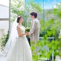 緑溢れるチャペルで、新郎新婦様の記念のお写真をしっかり残しましょう!