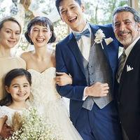 チャペルでの家族写真。心地よい空間で喜びに満ちた一枚を残そう