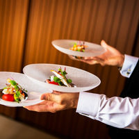 お料理はドリンク提供とスタッフが別だからこそ提供スピードが速くなります アレルギー対応や個別の対応も可能です