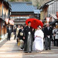 提携神社への手厚いサポート 宇多須神社からの花嫁道中