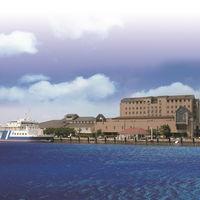 長浜港の目の前のホテルです
