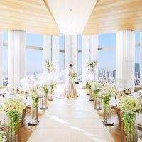 地上110mの東京の絶景を羨望するチャペル