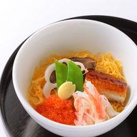 蒸し五目ちらし寿司(蟹 鰻)