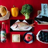 萬屋本店では、地元の食材や旬の食材をふんだんに使用したお料理を提供します。