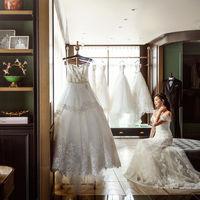 全国の花嫁に大人気のJUNOドレスショップ★ ドレスサロンが式場に隣接しているから打ち合わせとドレス選びが同じ日にできる!と大好評♪